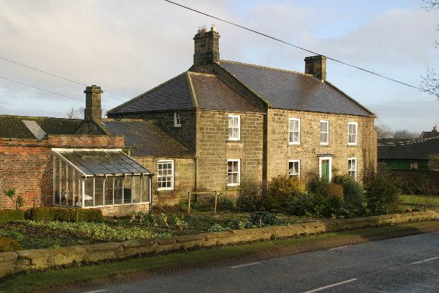Black Callerton farmhouse