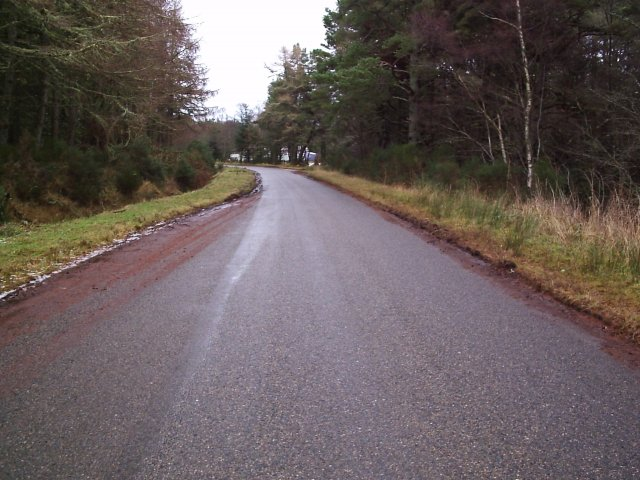 The Road At East Lamington