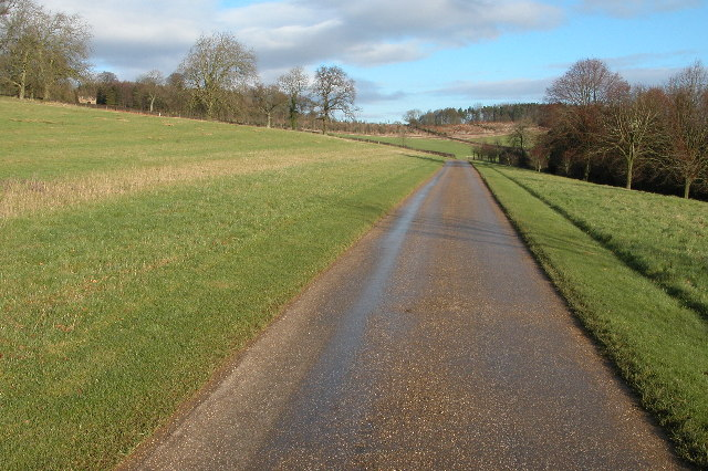 Driveway to Foxcote House