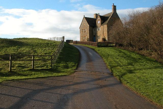 Farmhouse at Foxcote Farm