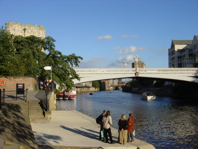Lendal bridge over the River Ouse, York