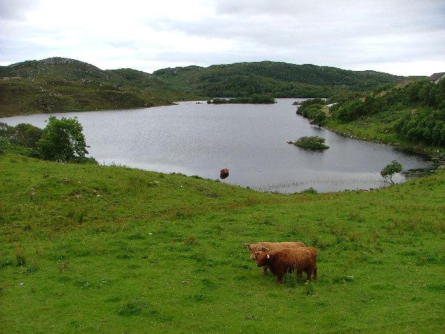 Loch Drumbeg, Scotland