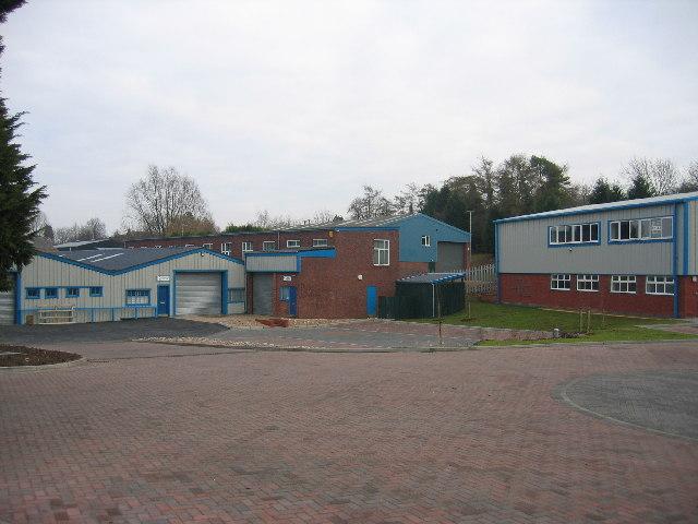 Industrial estate, Kineton