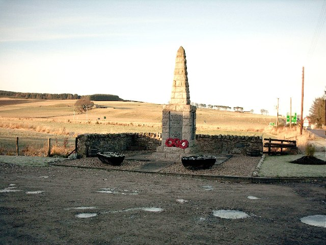 War Memorial,Mulben