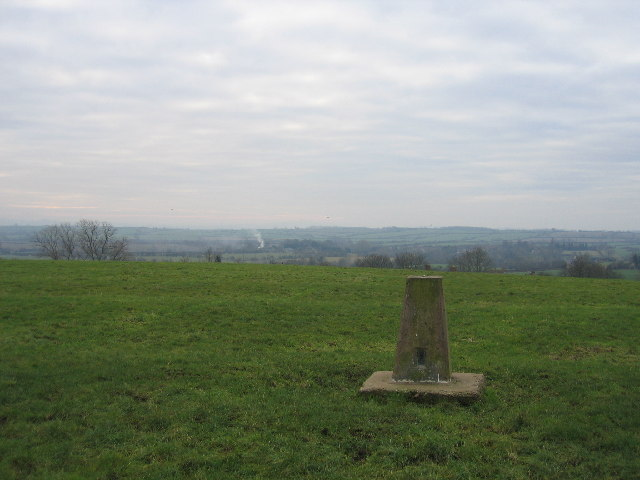 Trig point on Pittern Hill