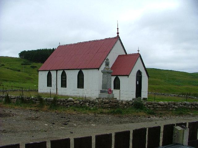 Church at Syre, Strathnaver, Scotland