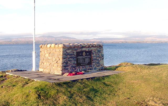 RAF Memorial, Ganavan Bay