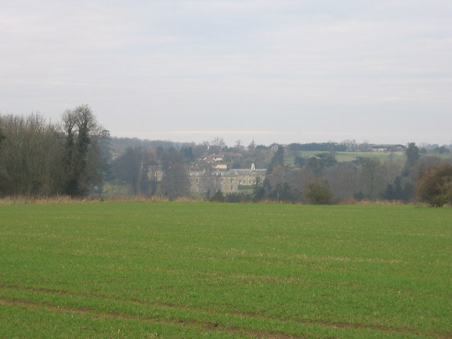 A distant view of Compton Verney