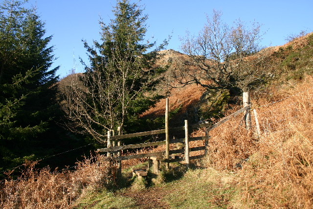 Stile lLeading to Swinburn's Park Plantation