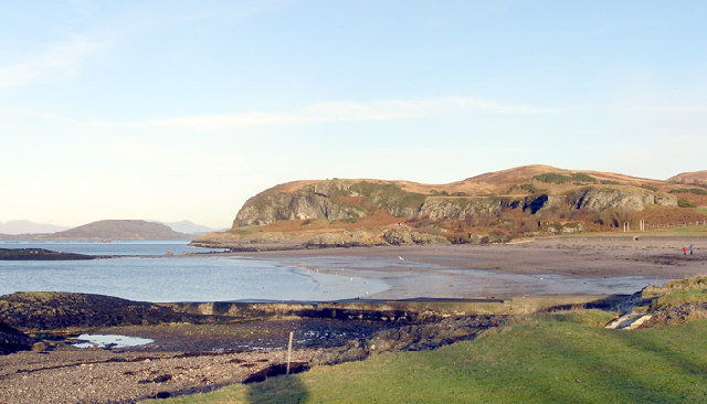 Ganavan Bay towards Ganavan Hill