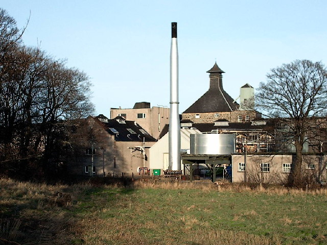 BenRiach Distillery near Elgin