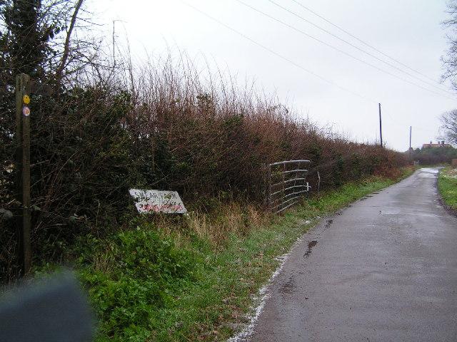 Entrance to Smear Farm