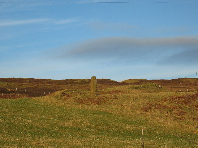 Standing Stone at Drumuie