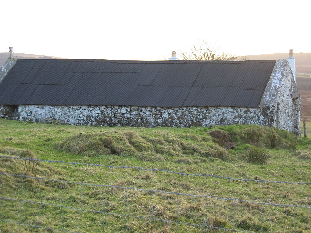 Old Shed at Borve