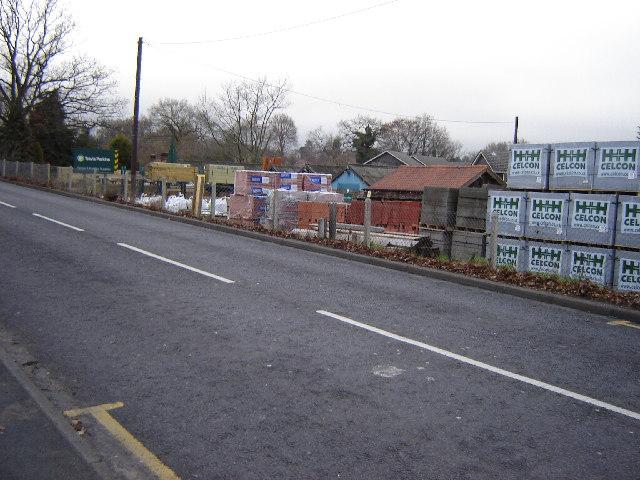 Travis Perkins Wood Yard, Camberley
