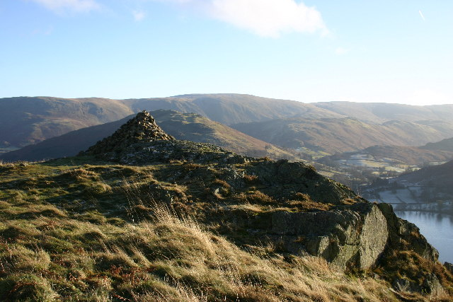 Cairn, Yew Crag, Gowbarrow