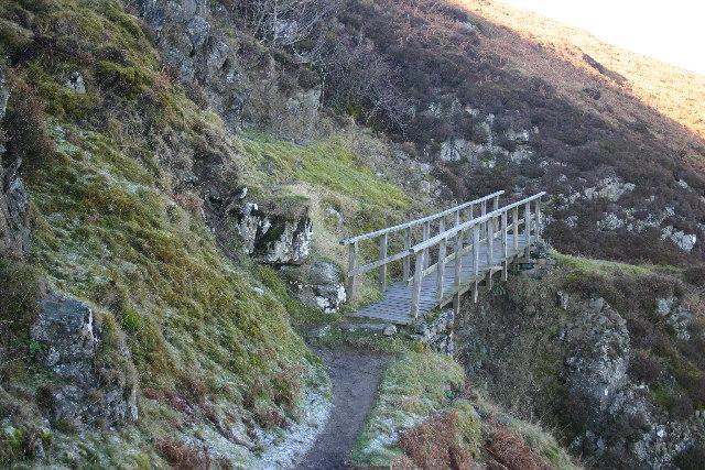 Footbridge over Ravine, Gowbarrow