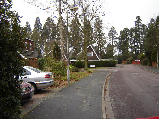 Housing near Camberley