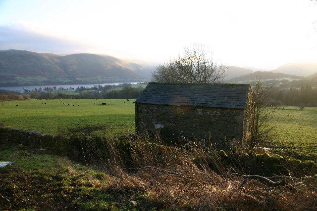 Barn Overlooking Ullswater