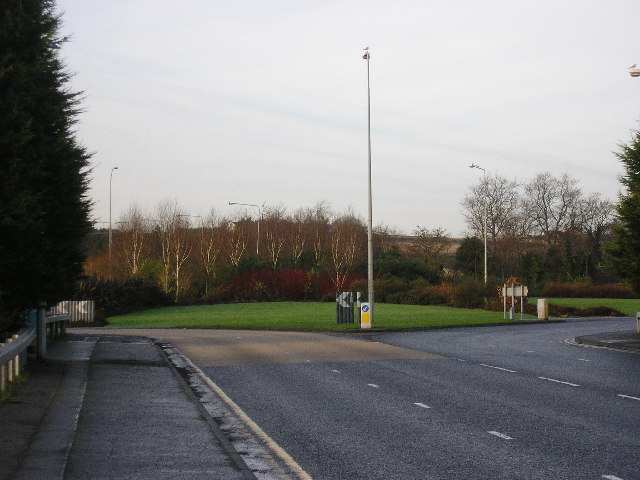 Greengraves Road Roundabout Newtownards