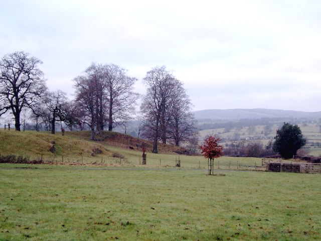 In the Grounds of Waddow Hall