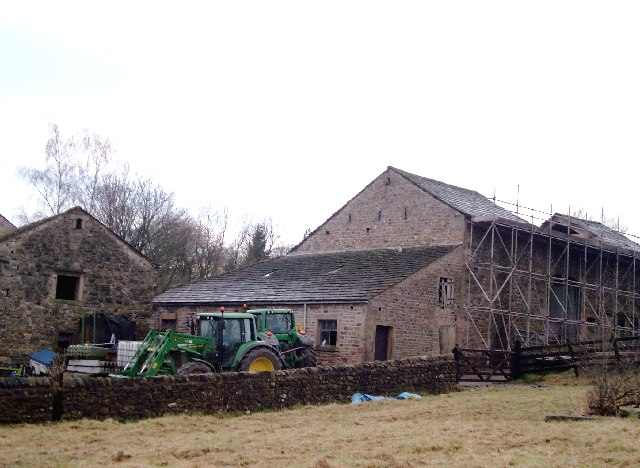 Barn being Converted, West Bradford.