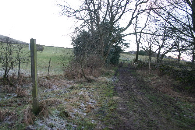 Footpath to Low Birchclose
