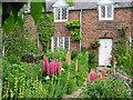 SJ3661 : Cottage and garden, Dodleston by Devon Rex