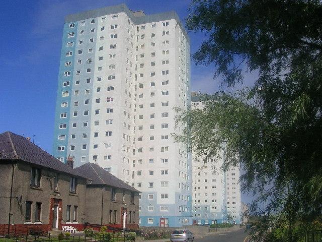 Highrise flats at Seaton