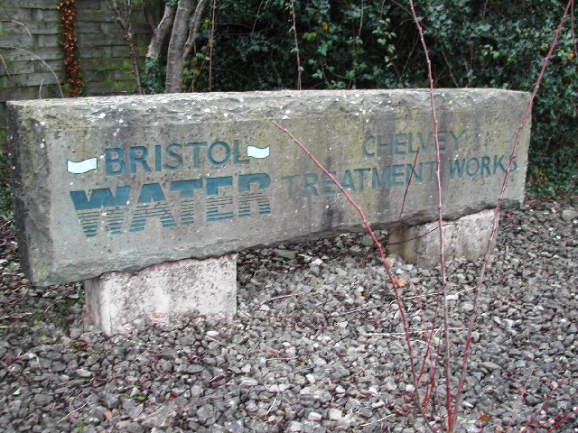Entrance sign to the Treatment Works