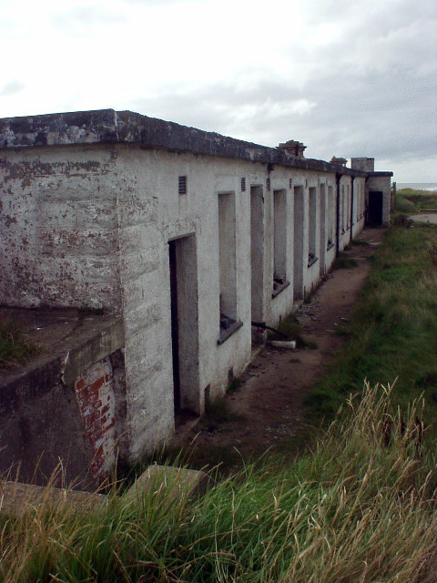 Building at Godwin Battery, Kilnsea