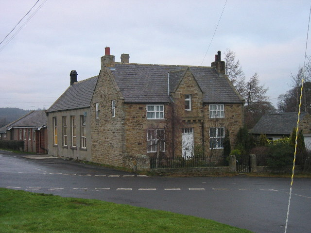 Old School and School House, Whitley Chapel