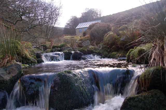 Waterfall in Black Clough