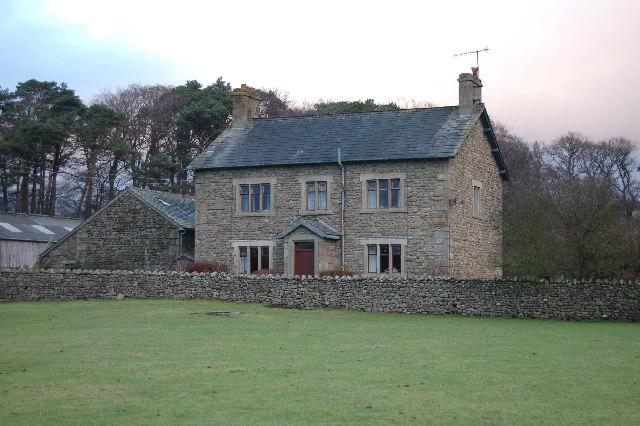 Farmhouse just below Marshaw cross roads