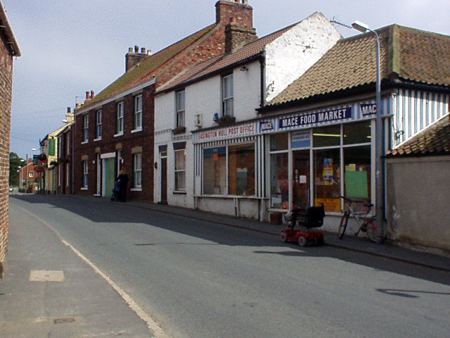 Post Office and village store, Easington
