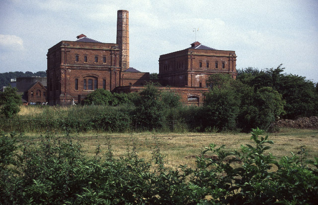 Clay Mills Sewage Pumping station, Stretton