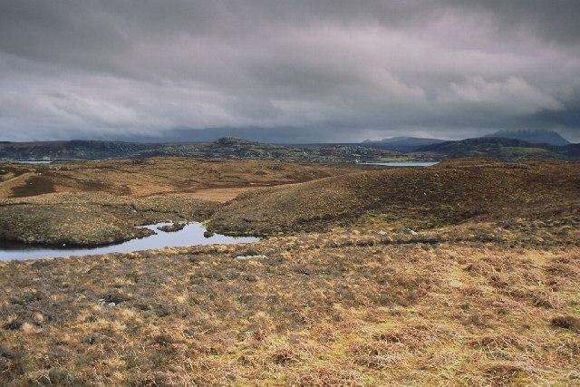 Moorland at Loch Loyal