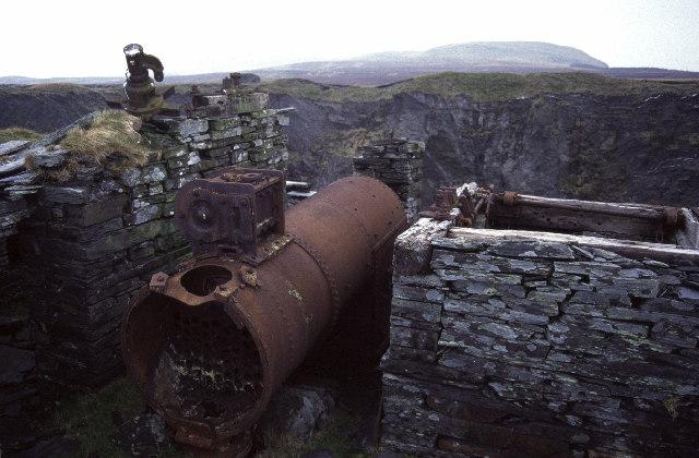Cwt-y-Bugail, slate quarry