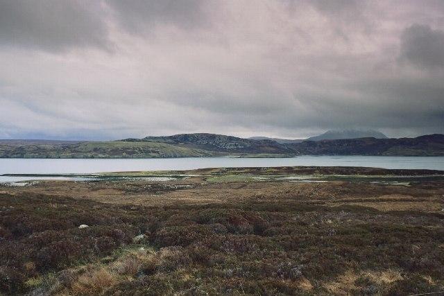Across Loch Loyal
