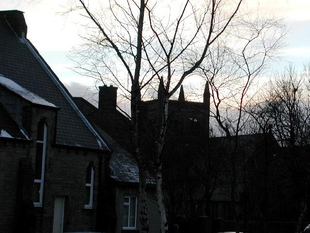 Tower of Christ Church Consett