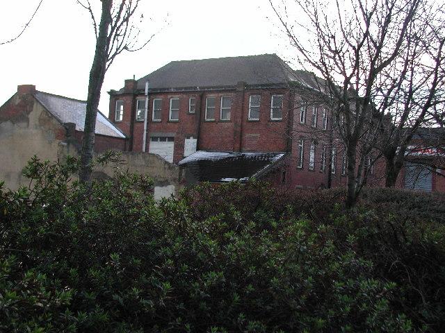 Former Co-operative Society building Newmarket Street Consett