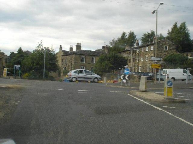 Moor Bottom towards Cuckoo Lane, Honley