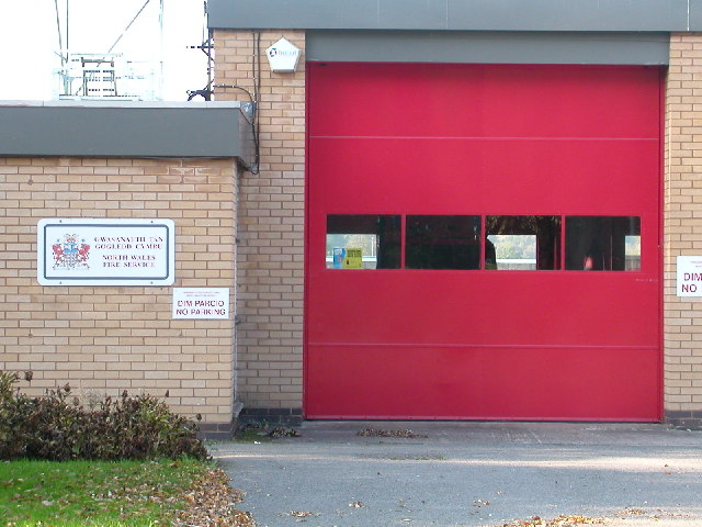 Fire Station, Ruthin.