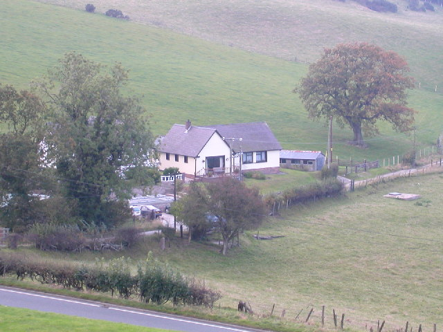 Country house near Clwyd Gate, North Wales.