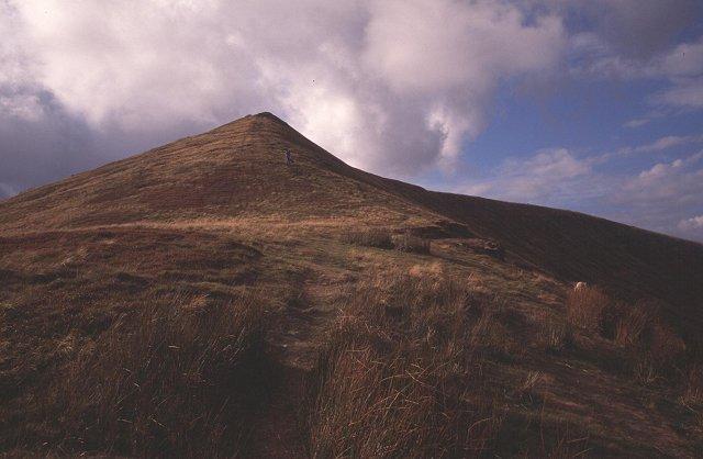 SE ridge of Waun Rydd.