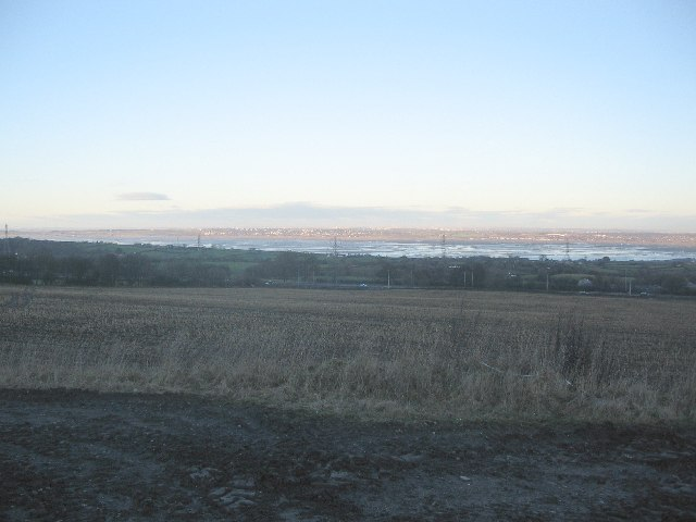 Dee Estuary from Pentre Halkyn