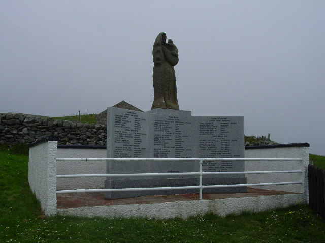Fishermen's Memorial, Gloup