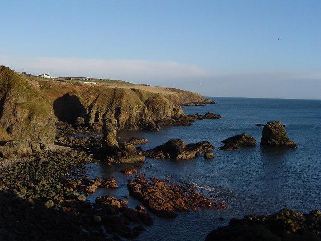 Headland erosion at Muchalls