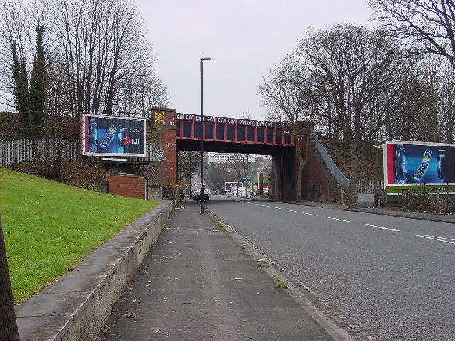 Railway bridge over the Muller Road