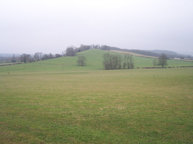 Un-named Knoll near Redcastle Farm